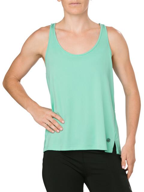 asics Loose - Camiseta sin mangas running Mujer - verde